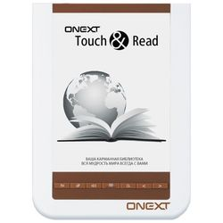 onext touch and  read 001 (серебристо-черная)