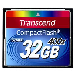 Compact Flash 32Gb Transcend TS32GCF400