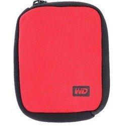 Чехол для внешнего жесткого диска USB HDD 2.5 WD WDBABK0000NRD-WRSN (красный)