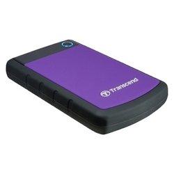 Transcend TS1TSJ25H3P StoreJet 25H3P 1Tb (1000Gb, 1 терабайт) 2.5 HDD USB 3.0 (Противоударный)