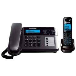 Panasonic KX-TG6451RUT (темно-серый металлик)