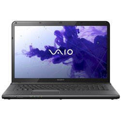"Sony VAIO SV-E1712T1R/B (Core i5 3210M 2500 Mhz, 17.3"", 1600x900, 4096Mb, 640Gb, AMD Radeon HD 7650M, DVD-RW, Wi-Fi, Bluetooth, Win 8 64) Black"