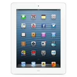 apple ipad 4 64gb wi-fi white :::