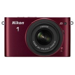 "photocamera nikon 1 j3 red 14.2mpix 10-30mm 3\\"" 1080 sdhc cmos ���-� � ����������en-el20"