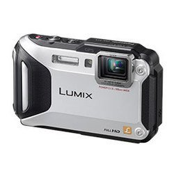 "photocamera panasonic lumix dmc-ft5 silver 16.1mpix zoom4.6x 3\\"" 1080 10mb sdxc live-mos is opt hdmi kpr/dpr/wpr/fpr 3d gps защищённаяli-ion"