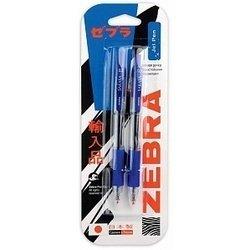 Ручка гелевая Zebra SARASA 0,5мм (синий) (2шт)