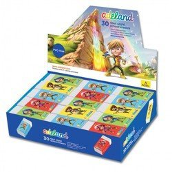 Ластик Adel ADELAND 227-0718-130 45х19х12мм индивидуальная картонная упаковка