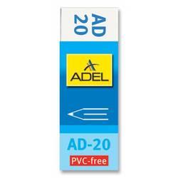Ластик Adel Office 227-0769-000 60х22х12мм индивидуальная картонная упаковка
