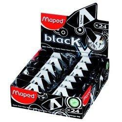 Ластик Maped Black Pyramide треугольной формы новая формула черный в картонном футляре