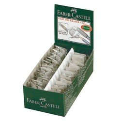 Ластик-колпачок Faber-Castell Grip 2001 187000 серый