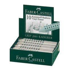 Ластик Faber-Castell Grip 2001 187100 серый