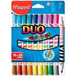 ���������� Maped Color&#39Peps Duo ������������ � ����������� ������.������� ����� ��������� 20 ������