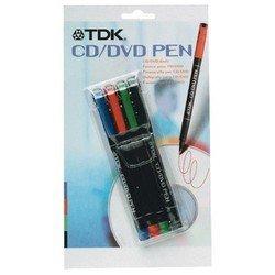Набор цветных маркеров для CD/DVD (t18940) 4шт