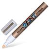 Маркер Zebra PAINT (MOP-200MZ-GO) перманентный круглый наконечник толщина линии 1,5мм золотой - Маркер, фломастерМаркеры и фломастеры<br>Вес (кг) 0.02, Объем (м3) 4.0E-5<br>
