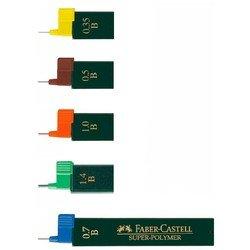 Грифели графитные Faber-Castell Superpolymer 120711 0,7мм твердость H 12шт в тубе