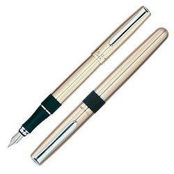 Ручка перьевая Tombow HAVANNA FP-LZ-M цвет корпуса серебристый перо:M подарочная коробка