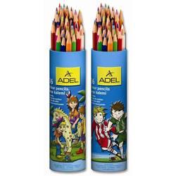 Карандаши цветные Adel Colour 211-2375-003 3мм 36 цветов алюминиевый тубус