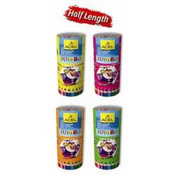Карандаши цветные Adel Jumbo Неха 211-9520-000 шестигранные 5,4мм 12 цветов точилка картонный тубус