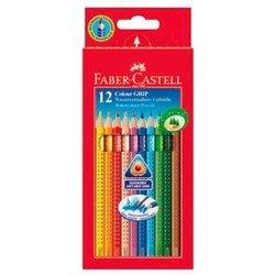 Карандаши цветные Faber-Castell Grip 2001 112412 в картонной коробке 12 цветов