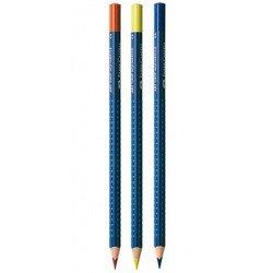Карандаши акварельные Faber-Castell Art Grip Aquarelle 114224 в металлической коробке 24 цвета