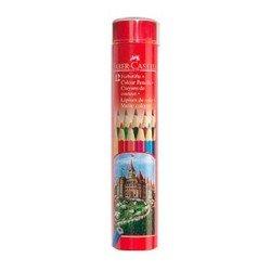 Карандаши цветные Faber-Castell Colour Pencils 115826 в тубе 12 цветов