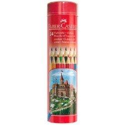 Карандаши цветные Faber-Castell Colour Pencils 115827 в тубе 24 цвета