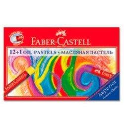 Пастель масляная Faber-Castell 125213 набор цветов в картонной коробке 12шт + 1шт