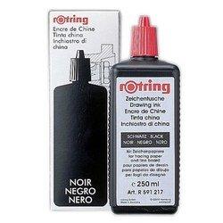 Тушь для изографов Rotring (S0216630) (250 мл) (черный)