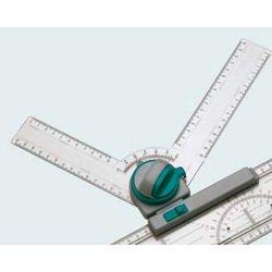 Чертежный узел Hebel Maul с транспортиром фиксация угла каждые 15 двухсторонняя градуировка от 0-90