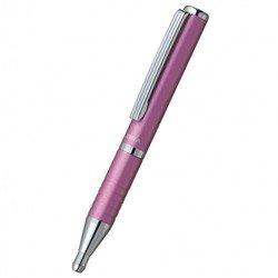 Ручка шариковая Zebra SLIDE (BP115-PK) авт. телескопич. корпус розовый синие чернила подар. коробка