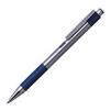 Ручка шариковая Zebra F-301 авт. 0,7мм метал. корпус синие детали синие чернила - Шариковая ручкаШариковые ручки<br>Вес (кг) 0.01, Объем (м3) 2.0E-5<br>