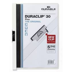 Папка-клип Durable Duraclip 30 Plus (белая)