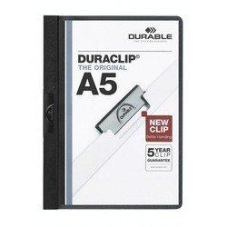 Папка-клип Durable Duraclip plus (черная)