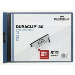 Папка-клип Durable Duraclip 30 (темно-синяя)