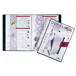 Папка Durable Duralook Plus с 20 прозрачными вкладышами