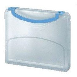 Пластиковая папка-портфель A4 (Kokuyo WE-KUKE734W) (белый)