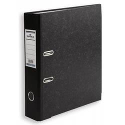 Папка-регистратор Durable 3320-00 (мрамор, черная)