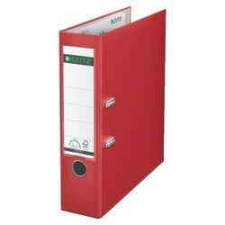 Пластиковая папка-регистратор A4, 80 мм (Leitz 10101225P) (красный)