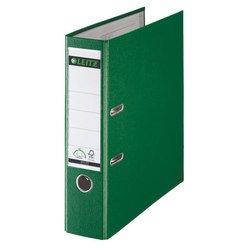 Пластиковая папка-регистратор A4, 80 мм (Leitz 10101255P) (зеленый)