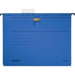 Папка подвесная Leitz Alpha картонная (синяя)