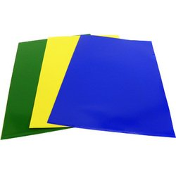 Папка-уголок (Бюрократ E310N/1) (желтый)