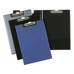 Папка-планшет Durable Clipboard Folder А4 верхний прижим внутренний продольный карман черный