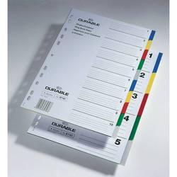 Индексные разделители Durable пластик 5 цветных разделов (6730-27)