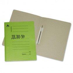 Скоросшиватель Бюрократ SK260Mgrn картон мелованный 0.4мм 260г/м2 зеленый