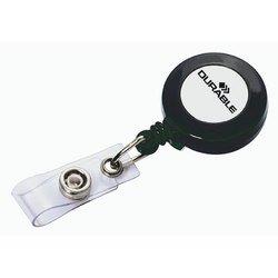 Зажим-рулетка Durable для всех видов бэджей 10шт/уп 80 см с лого Durable
