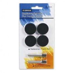 Комплект запасных частей для мощного дырокола KW-trio 9550 (2 ножа и 4 пластиковых диска) (91300534)