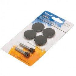Комплект запасных частей для дырокола KW-trio 9556 (1300684)  (2 ножа и 4 пластиковых диска)