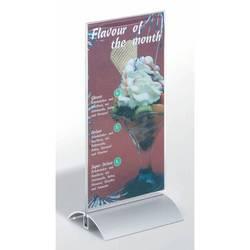 Табличка Durable настольная двусторонняя Presenter 1/3 A4 прозрачная
