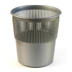 Корзина для бумаг Унипласт 220453 сетчатая 10 литров серый