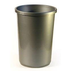 Ведро офисное Унипласт 220504 12 литров серый